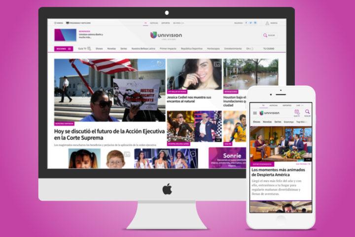 univision redesign 2016